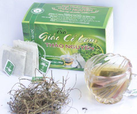 Trà túi lọc giảo cổ lam -Gia công trà túi lọc Green D World
