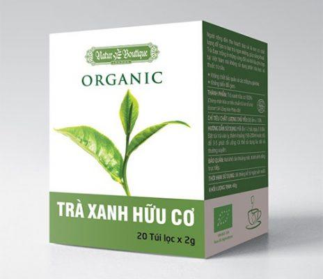 Trà túi lọc trà xanh hữu cơ - Gia công trà túi lọc Green D World