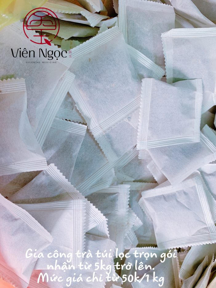 gia công trà túi lọc chất lượng cao 2019