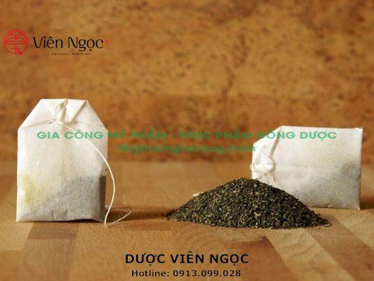 Dịch vụ gia công đóng trà túi lọc từ khâu chuẩn bị nguyên liệu đến thành phẩm