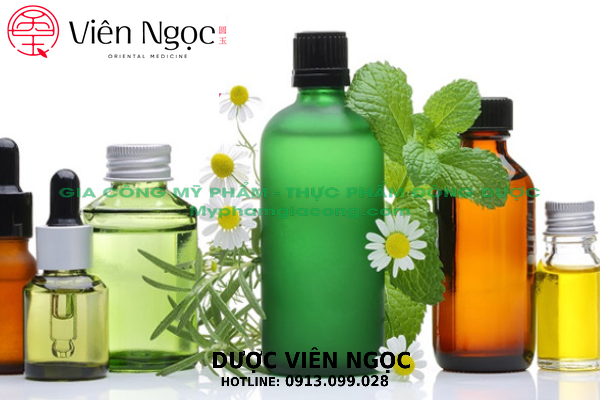 Sản xuất mỹ phẩm thiên nhiên